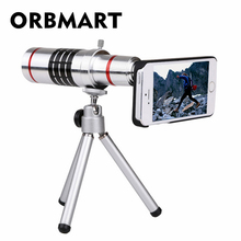 Buy ORBMART 18X Optical Zoom Lens Camera Telescope Tripod Back Case Cover iPhone 6 6s Plus for $26.25 in AliExpress store
