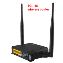 300Mbps 4G Wireless WiFi Router With SIM Slot Support HSPA UMTS TD-LTE FDD-LTE WCDMA GSM GPRS , 10/100 / 1000Mbps ,IEEE 802.11n(China)