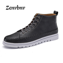 ZENVBNV 2017 Men boots Fashion Martin Boots Snow Boots Outdoor Casual cheap timber boots Lover Autumn Winter shoes 39~44 size