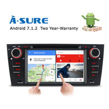 "A-Sure 7"" Android 7.1 Ouad Core Car GPS DVD CD Radio player for BMW 3 Series E90 E91 E92 E93 M3 4G WIFI DAB+ Navigation Sat Nav(Hong Kong,China)"