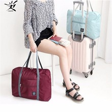 Sports Bag Women fitness Large Capacity Luggage Bag Folding Travel Waterproof Gym Bags Big Size Zipper Handbags Ultralight