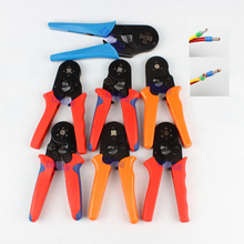 HSC8 6-6 HSC8 6-4 MINI-TYPE SELF-ADJUSTABLE CRIMPING PLIER 0.25-6mm 4-16mm multi tools hands pliers TOP BRAND LUBAN