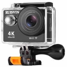 RUISVIN W9S Action Camera 4K WiFi Waterproof Mini Cam 1080P(30fps) 720P (30fps) Sports Camera With Anti-shake Function