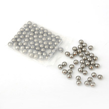 100pcs/lot 5mm Steel Ball For Hunting Slingshot Bearing Ammo Outdoor Activity Game(China)