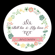 Buy Party Favors Labels Personalized Wedding Stickers custom Candy Stickers Wedding engagement anniversary supplies Boda for $5.85 in AliExpress store