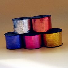 100 yards balloon accessories laser balloon ribbons helium balloons golden/silver/red/blue/rose