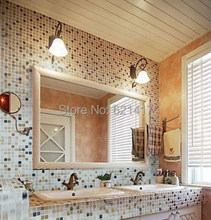 Home Improvement Natural Marble Stone Mosaic tiles, Kitchen Back Splash, Wall Tiles, Floor Mosaic, Free Shipping
