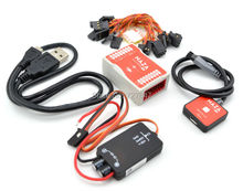 Original Naza M Lite Multi Flyer Version Flight Control Controller w/ PMU Power Module & LED &Cables