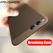 Frvsimem Ultra-thin Cooling Breathing Phone Case For XiaoMi Mi5X MiA1 Mi5 Mi5s Mi6 Plus Mi 5 5s 6 6Plus A1 5X Hard PC Full Cover