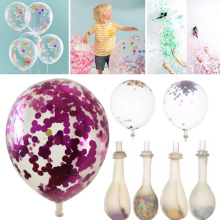 5Pcs/Bag Magic Birthday Party Supply Balloons With Foam Celebration Decor(China)