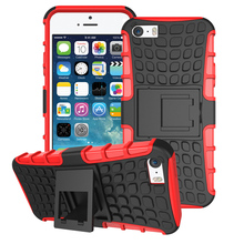 Cell Phone Cases For Apple iPhone SE iPhone 5SE iphone55s iPhone 5 5S 5G 55S Covers Silicon PC Armor Hybrid Tyre Case Bag Shell
