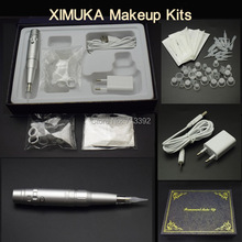 2016 Best Quality (Import Motor ) Electric Rotary Permanent Makeup Machine Kits(China)