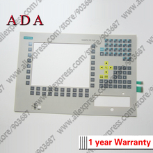 Membrane Keypad Switch for 6ES7645-1DK40-0AE0 6ES7645-0BA10-0AA0 6ES7642-2AA00 PC FI25 Industrial Membrane Keyboard