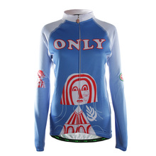TVSSS New Style Women's Long Sleeve Summer Bicycle Clothing with Egypt People Head Pattern Mountain Bike Jersey Design