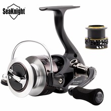 SeaKnight Spinning Fishing Reel WR II 2000H 3000H 4000H 6.2:1 Aluminum Spool Screw-in Handle Spinning Wheel Lure Fishing Tackles(China)