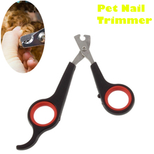 1PC Hot Small Pet Nail Clipper Scissors Cutter Puppy Claw Trimmer Safe Grooming Grinder Small Animals(China)