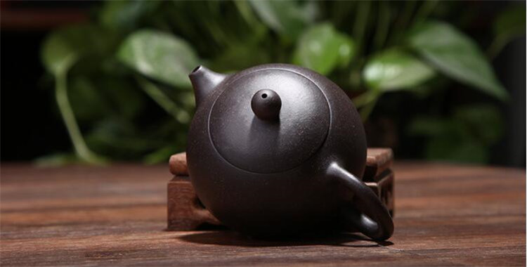 170ML yixing tea pot purple clay xi shi zisha teapot ore beauty chinese kung fu kettle suit puer black tea with gift box 7