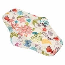 Organic Bamboo Inner Washable Reusable Feminine Hygiene Menstrual Pads Mama Cloth Sanitary Pads Lady Cloth Pad Panty Liner