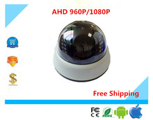 Luckertech AHD/XVI Dome Camera Anti-Proof ABS Plastic 22 Infrared LedS NinghtVision IRC UTC Coaxial Control CCTV Security(China)