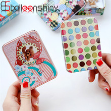 BalleenShiny Mini Iron Storage Box Cartoon jewelry Coin Earphone Data Line Cable Key Organizer Container Desk Sundries Holder(China)