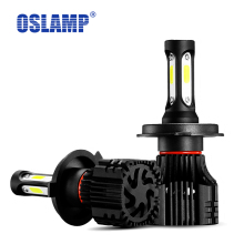 Oslamp H4 9007 Headlight Car Bulbs 72W 8000LM 6500K COB Chips H11 H1 9005 9006 H3 Led Headlamps Kit S5 Series Led Auto Fog Lamp