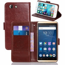 GUCOON Vintage Wallet Case for Highscreen Bay 5.5inch PU Leather Retro Flip Cover Magnetic Fashion Cases Kickstand Strap