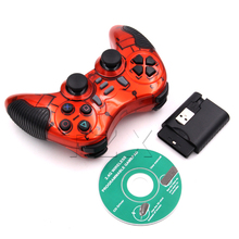 ZB Newest Red Wireless Bluetooth Game Joystick Controller for Sony PS3 Console Gamepad Controller Joystick
