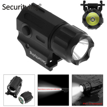 SecurityIng Waterproof XP-G R5 LED Tactical Flashlight Military Weapon Lights 2 Mode Mini Handheld Pistol Torch Lamp Flash Light