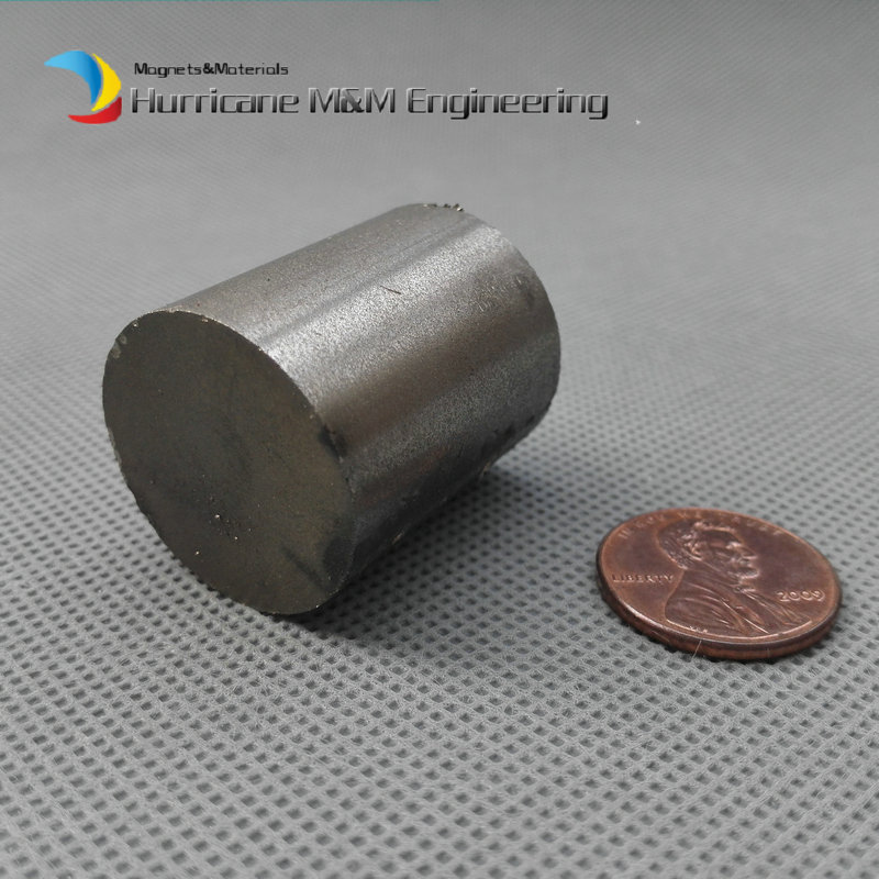 2 pcs SmCo Magnet Disc Dia 25x30 mm cylinder grade YXG24H, 350degree C High Temperature Permanent Rare Earth Magnets<br>