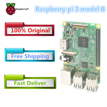 2016 new original element14 raspberry pi 3 model b / raspberry pi / raspberry / pi3 b / pi 3 / pi 3b with wifi & bluetooth(China)