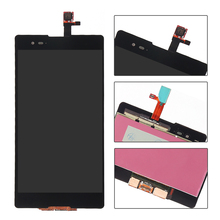 White black LCD display touch screen digitizer full assembly replacement parts For Sony Xperia T2 Ultra D5303 D5306 XM50h
