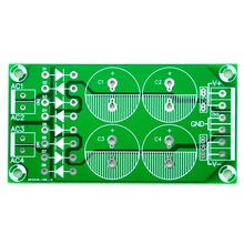 (100 pcs/lot ) al Bridge Dual Polarity Unregulated Power Supply PCB.