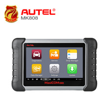 7 inch Autel MaxiCOM MK808 Automotive Diagnostic Scanner with IMMO/EPB/SAS/BMS/TPMS/DPF Service Code Reader Android Touchscreen(China)