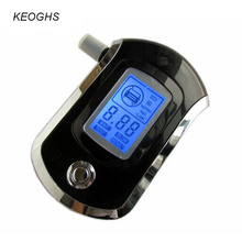 KEOGHS Alcohol tester breathalyzer digital breath blow analyzer professional AT6000 portable alcohol testing BAC content(China)