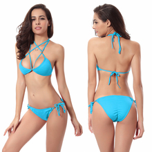 2017 Sexy Beach Swimwear Hot Swimwear Bandage Bikini Women Swimsuit Bathing Suit Brazilian Bikini Set maillot de bain Biquini