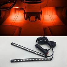 1 set Car LED Interior Decoration lighting Atmosphere Lamp Decorative Lamp for Ford fiesta mondeo ecosport kuga Car styling