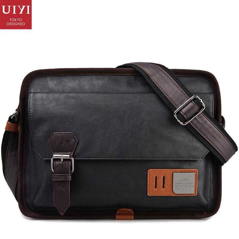 UIYI Brand New Handbag Men Messenger Shoulder Bag Crossbody Briefcase PU Leather Male Travel Luxury Ombro Masculina 150001901<br>
