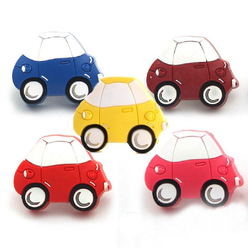 Creative Car design Soft Knobs for Kids Children Cartoon Furniture Knobs Cupboard Cabinet Handles Colorful Drawer Pulls<br><br>Aliexpress