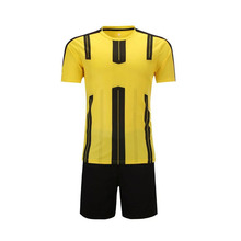 2017 2018 professional design kids adult quick dry breathable custom soccer training football jerseys(China)