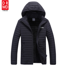 Outdoor Mens Running Fleece Jacket warm Travel jacket Windproof Camping Jacket Down Hooded Men Plus Size Hiking jacket Winter