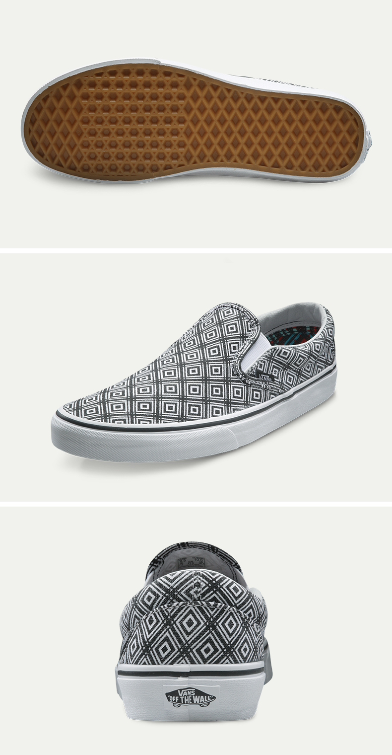 Intersport Original Vans Men's Skateboarding Shoes Sports Shoes Canvas Shoes Sneakers free shipping