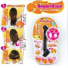 Unique Bobo style hairdisk long hair become short accessories