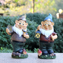 handmade vintage free resin garden gnomes for sale poly resin figurines garden decorations