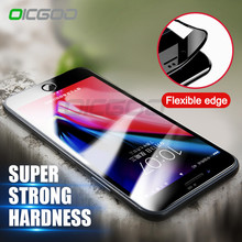 OICGOO 3D Soft Edge Tempered Glass For iPhone 8 8 Plus 3D Curved Full Cover Screen Protector For iPhone 7 6 6s Plus 7 Glass Film(China)