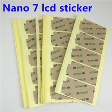 10pcs/lot New for iPod Nano 7 7th LCD Touch Screen Digitizer Display Frame Double-side 3M Adhesive Sticker Replacement