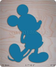 blue Mickey Wooden Die Fits Big shot Pro, New(China)