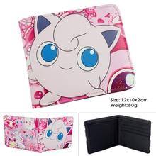 new design hot game pokemon go wallets pikachu wallet lovely cute purse female women's wallets pokemon ball cards holder