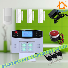 Wireless LCD Keypad GSM SMS Home Office Fire Alarm System Security Burglar Alarm