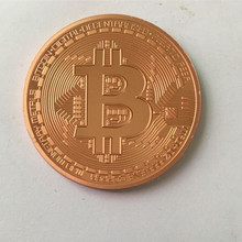 Buy 10 pcs Classic BTC bitcoin 24K real gold plated silver bronze badge 40 mm internet theme souvenir collectible coin for $27.00 in AliExpress store