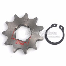Front Sprocket 428-11T 20mm 428 Size 11 Teeth Sprocket for Motorcycle ATV Dirtbike(China)